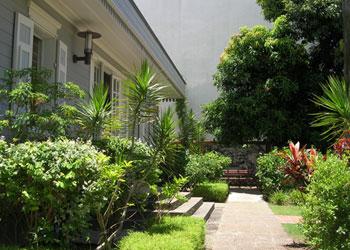 Portfolio paysage zone up architectes paysagistes et for Amenagement jardin reunion