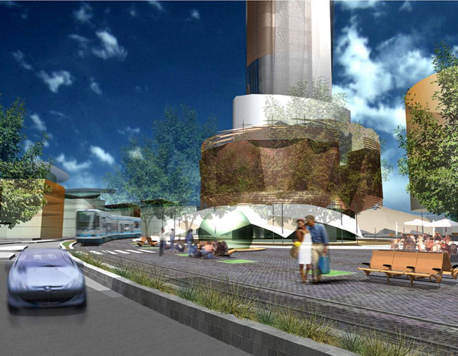 Projet etude de d finition du mail de l oc an au port for Architecte urbaniste definition